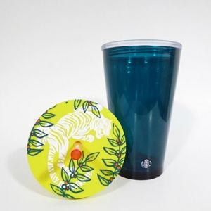 Starbucks Neon Tiger Cold Cup Tumbler SKU